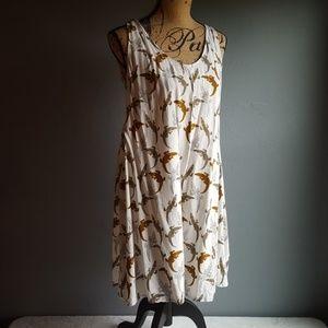 H&M Alligator Print Tunic Sundress